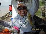 Hadi... Mancing Udang Galah Mesti Jadik