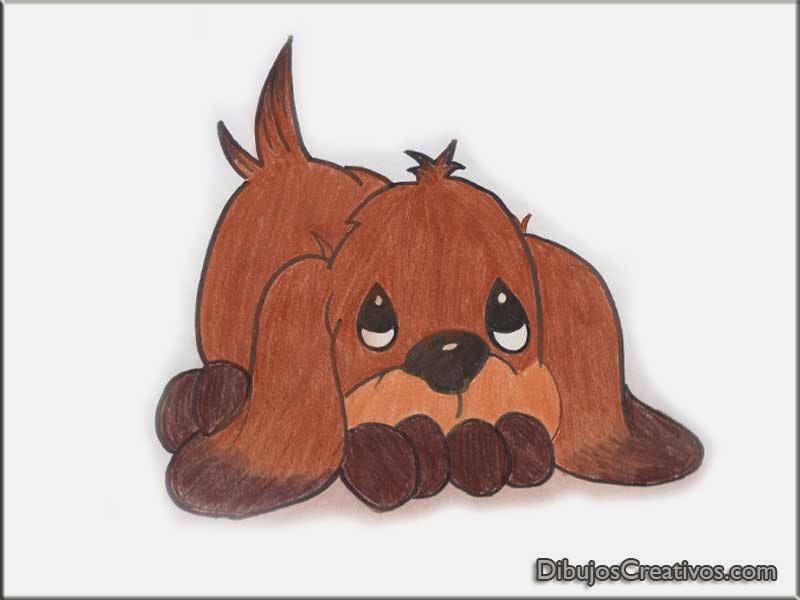 dibujos pintado de cachorro