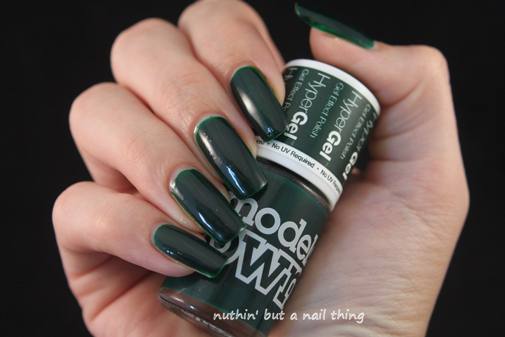 models own hypergel ebony green