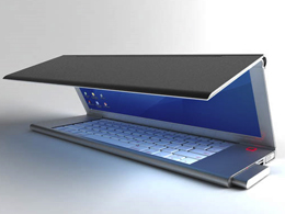 gadget high tech Concept ordinateur portable netbook