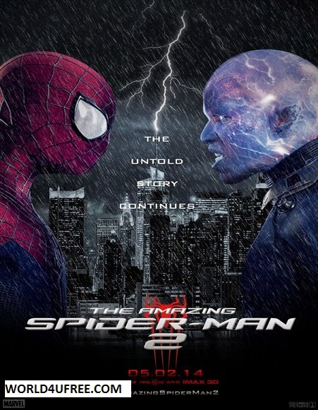 The Amazing Spiderman 2 2014 WEB HDRip 480p 350mb ESub