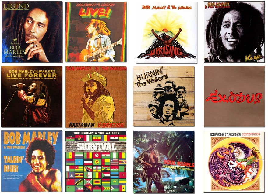 Inspiring Albums Left Behind For Us From The King Of  Reggae