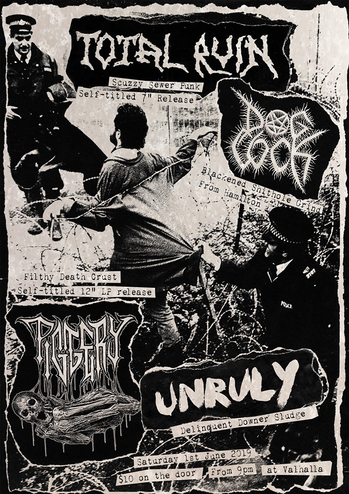 Total Ruin & Piggery Double Record Release Show