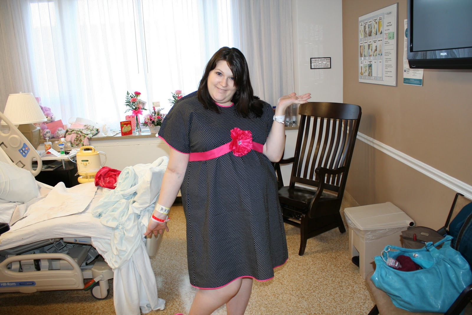 Living Wholly: DIY Hospital Gown