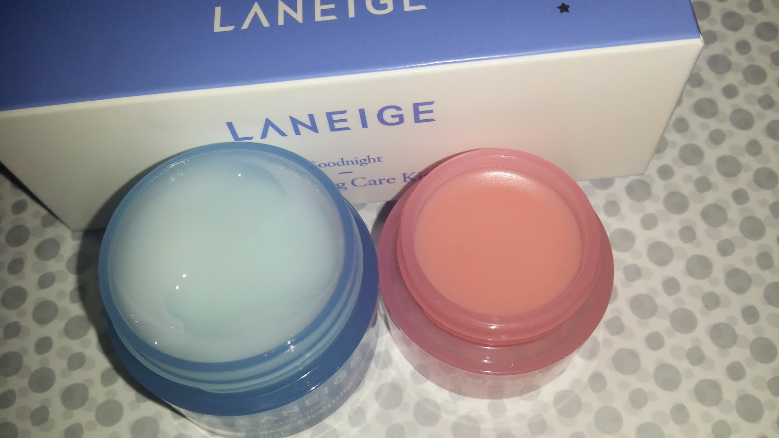 Review laniege goodnight sleeping care kit laniege water laneige water sleeping mask review altavistaventures Images