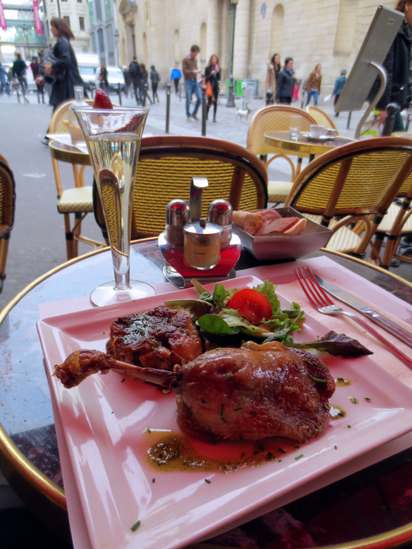 Paris anka champagne