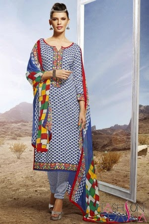 Latest Summer Special Printed Salwar Suit | fashion femina