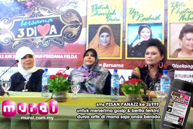 Malaysia, Hiburan, Artis Malaysia, Selebriti, Konsert 3 Diva, Uji Rashid, kecewa, disangka, tarik, diri