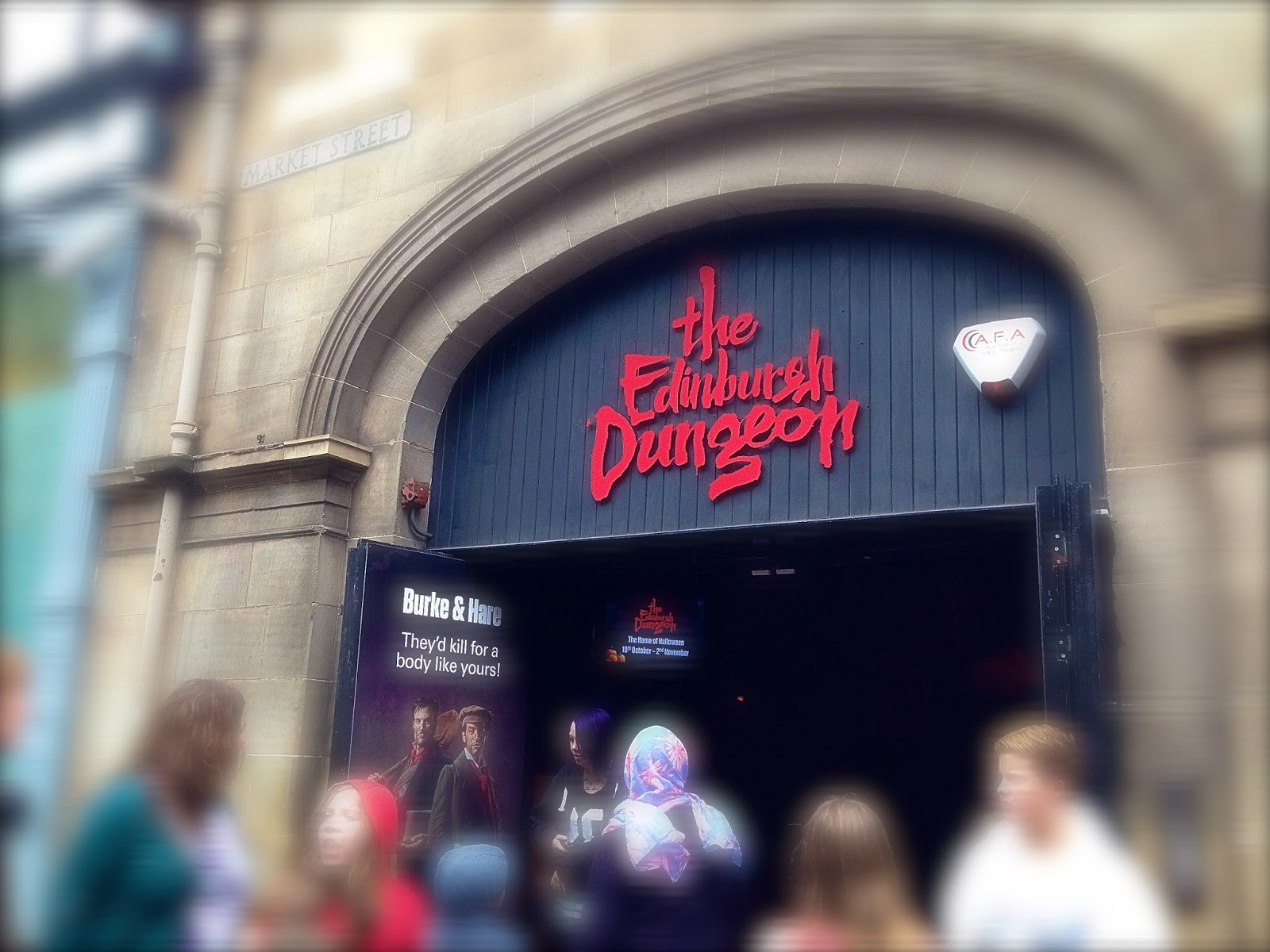 Edinburgh Dungeons entrance