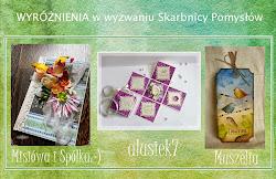 Wyróżnienie TOP3 w Skarbnicy Pomysłów 5.06.