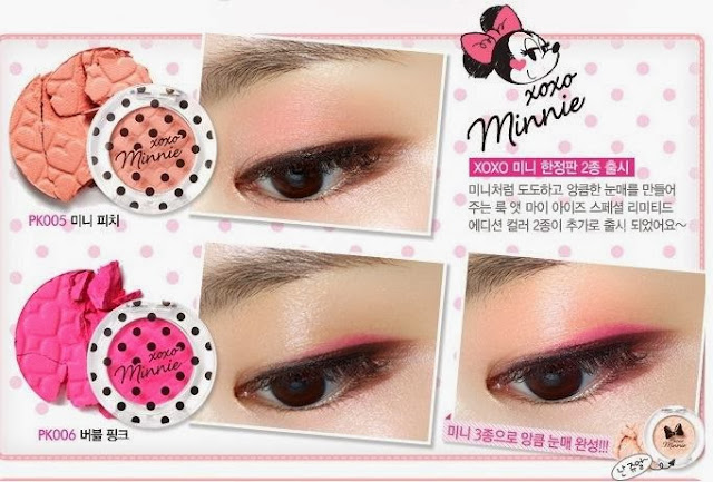 disney, etude minnie, xoxo minnie etude, jual etude murah, jual etude, eyeshadow etude, review