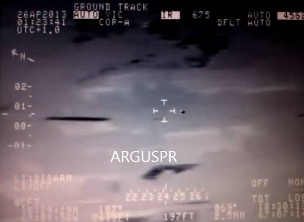 UFO's Are Monitoring Us: Military Video Shows UFO Being Pursued