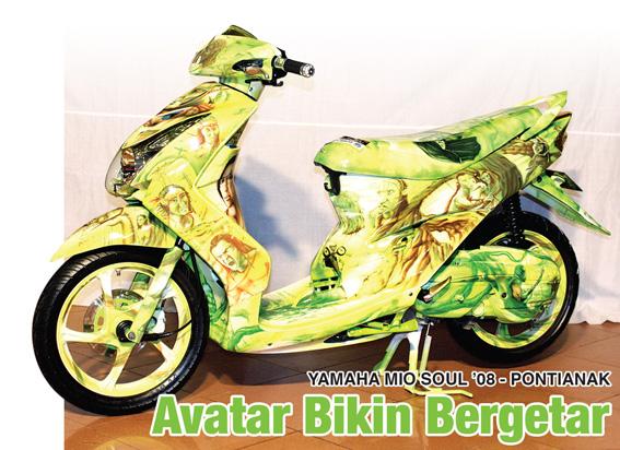 Yamaha Mio Soul '08 : Avatar Bikin Getar