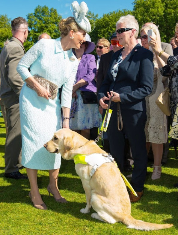 Sophie, Countess Of Wessex Hosted A Garden Party At Buckingham Palace