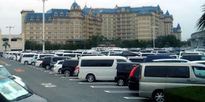 東京ディズニーランドに早く到着したら仮眠や車中泊が出来るのか?