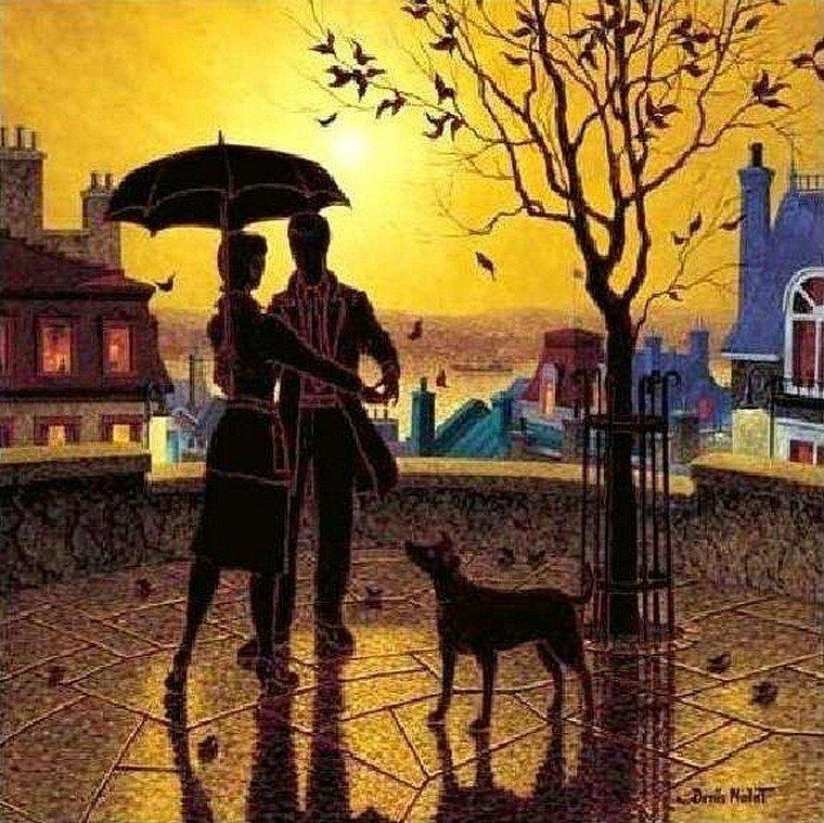 Вальс парижского дождя denis nolet