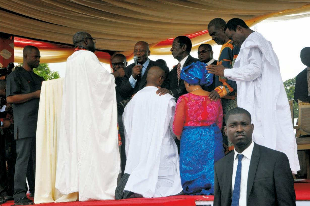 Udom Emmanuel goes spiritual BY EMMANUEL AKPAN