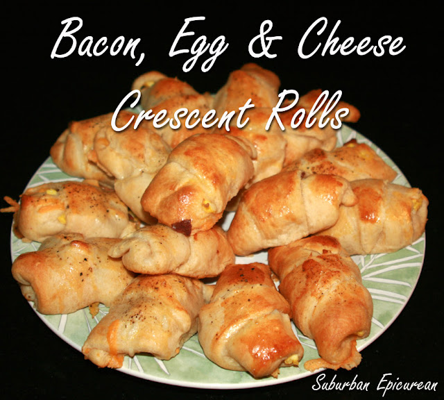 Suburban Epicurean: Bacon, Egg & Cheese Cresent Rolls