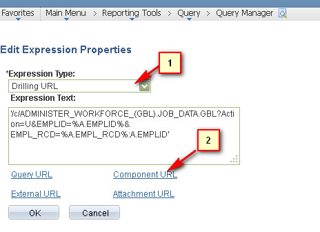 With PeopleSoft PSQuery Drill Down In PeopleSoft 9 1