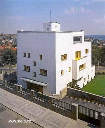 Residencia de estilo arquitectónico Moderno - Villa Müller en Praga