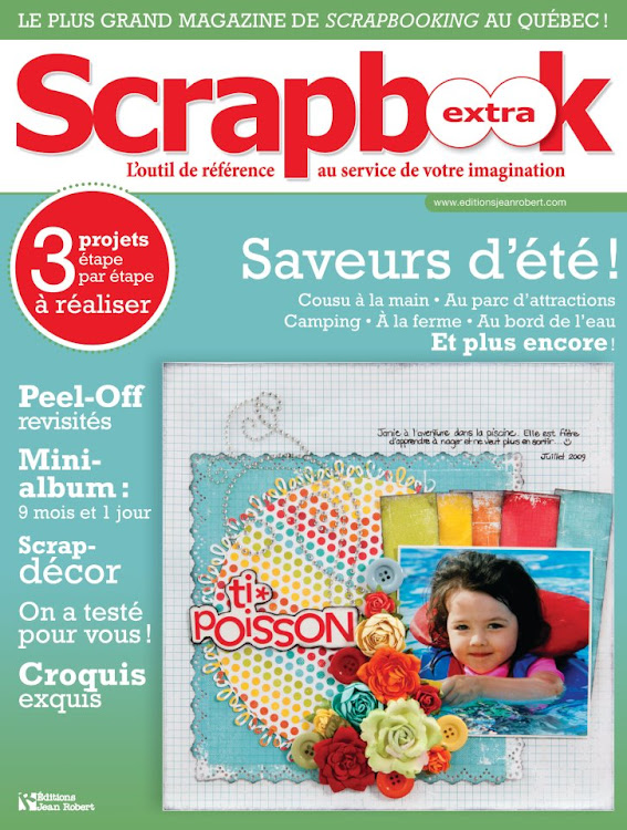 Scrapbook Extra Septembre-Octobre 2011