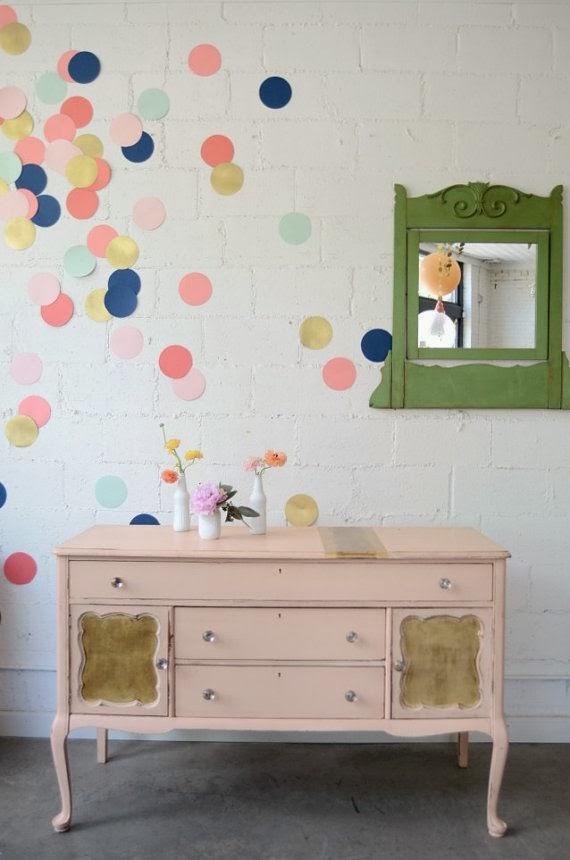 d co 20 id es diy pour relooker un mur justagirl. Black Bedroom Furniture Sets. Home Design Ideas