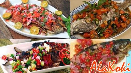 Resep Membuat Ikan Bakar Colo Dabu-Dabu dan Cara Membuat