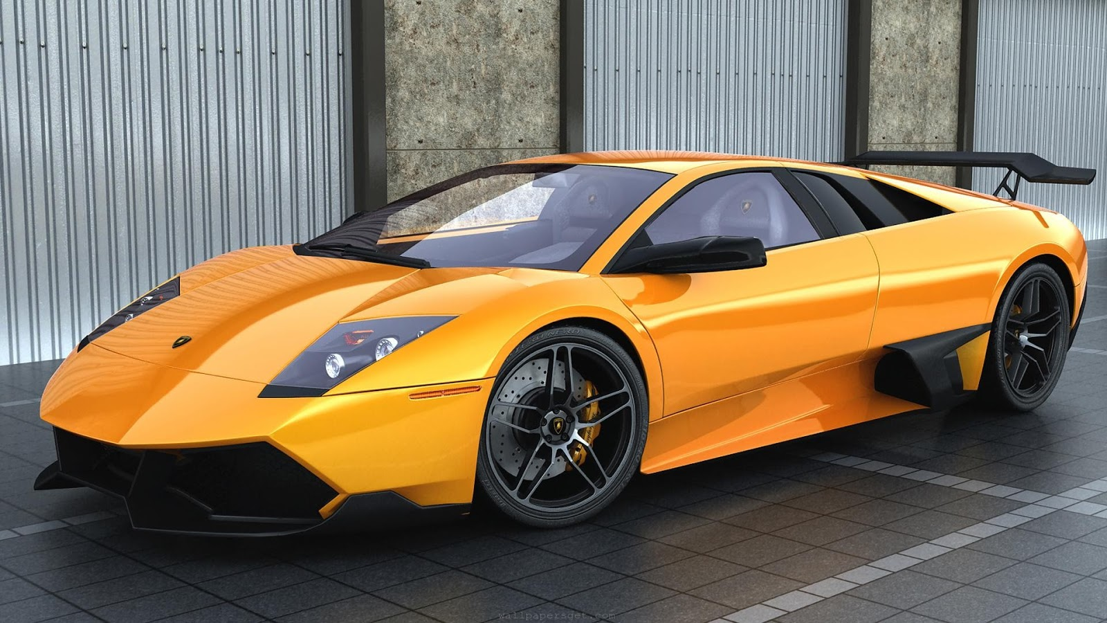Luxury Lamborghini Cars Orange Lamborghini Murcielago Wallpaper