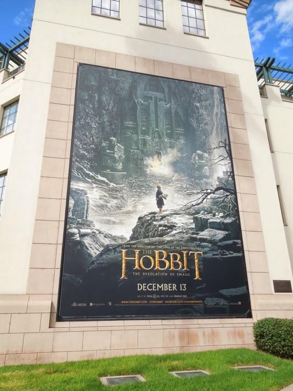 Hobbit Desolation of Smaug billboard