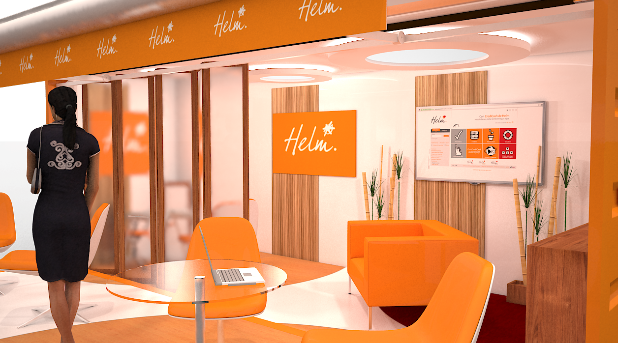 Concept Oficina Movil Helm Bank | Gustavo Dávila Venegas ...