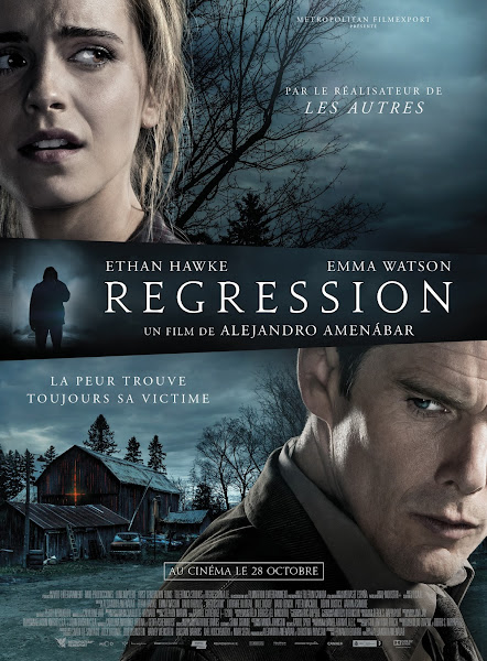 Poster Of Regression 2015 720p English BRRip Full Movie