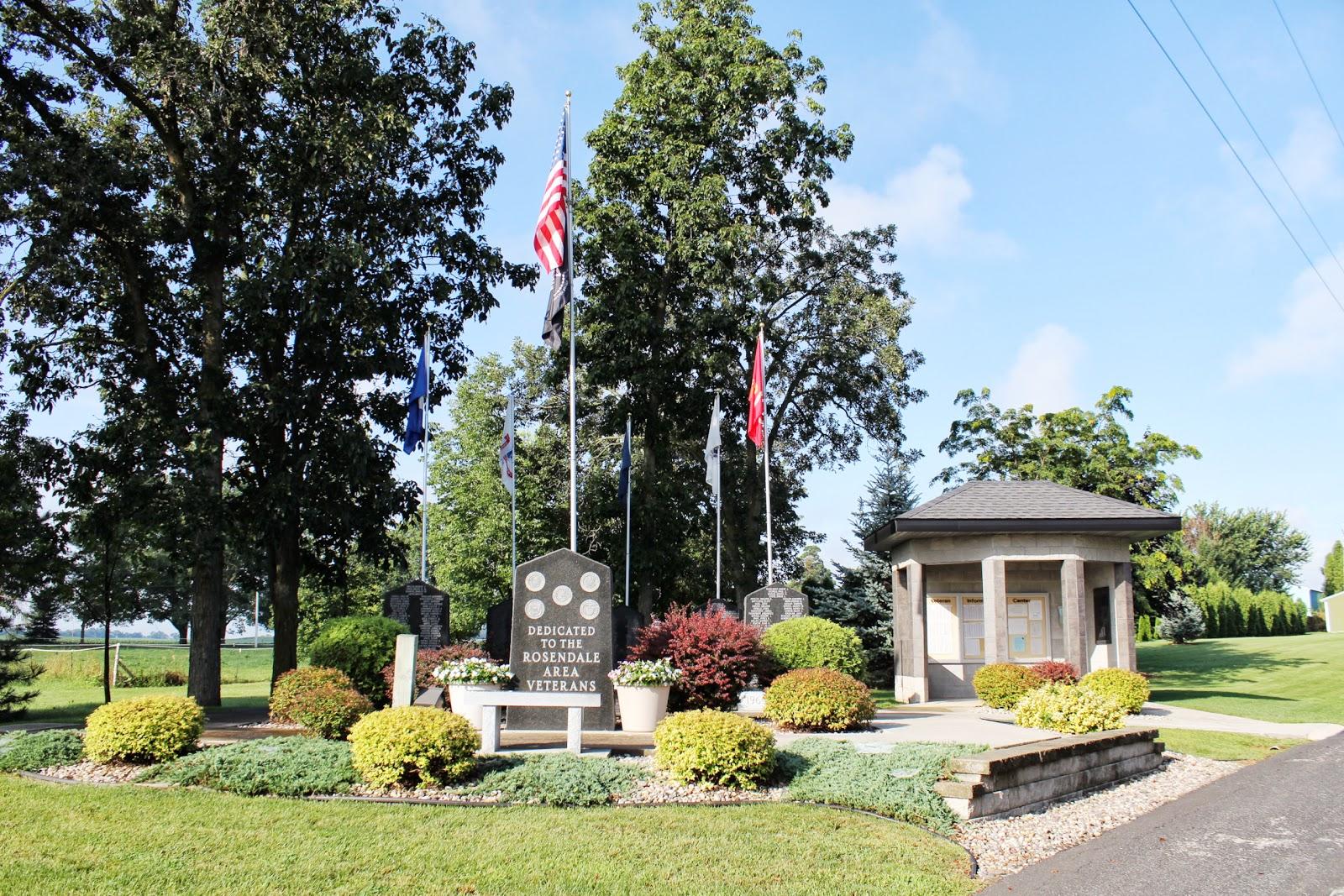 Wisconsin Historical Markers Rosendale Area Veterans Memorial