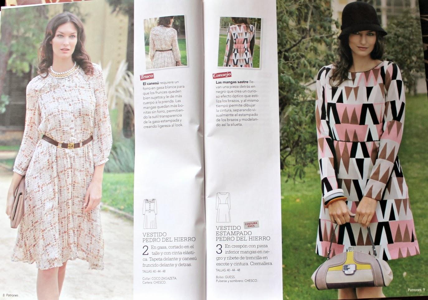 Revista Patrones. n.332 | Aventuras de costuras | Bloglovin\'