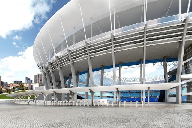 Faixada da Arena Fonte Nova