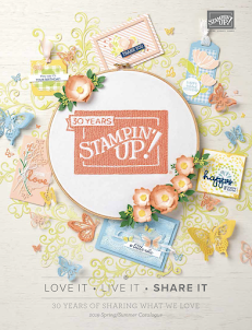 Stampin'Up Voorjaars brochure