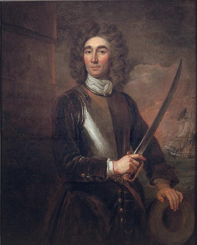 Admiral John Benbow by Sir Godfrey Kneller