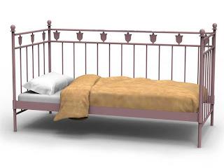 cama divan forja, divan forja, sofa forja