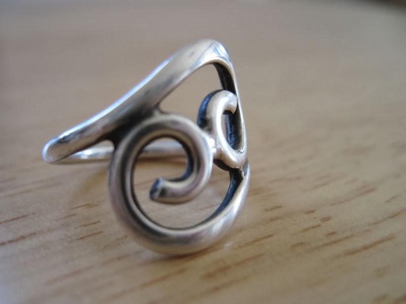 Michael och jag hade inga ringar (av olika anledningar) när vi gifte oss så  min älskade ring fick sitta kvar.  ) Och det lär den göra så länge den  passar. 422d181410284