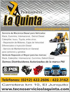 TECNOSERVICIOS LA QUINTA, C.A. en Paginas Amarillas tu guia Comercial