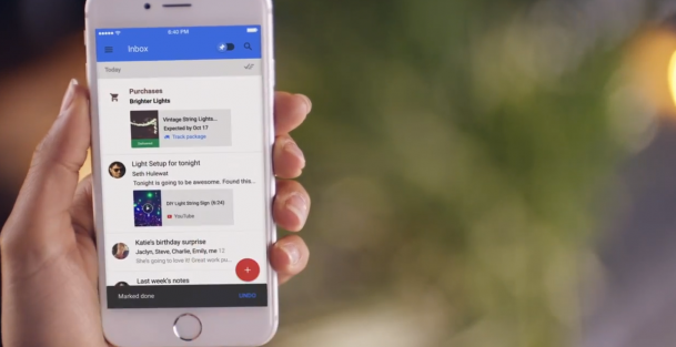 Google Introduces Inbox For iPad