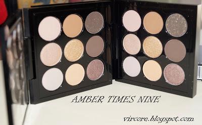 SORTEO Paleta Amber Times Nine de Mac