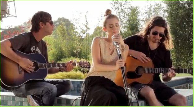 miley cyrus backyard sessions outfit backyard sessions por miley