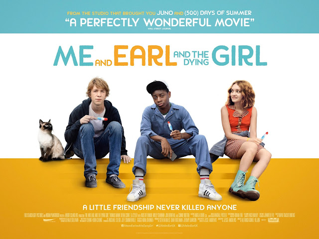 Me and Earl and the Dying Girl Quad Poster