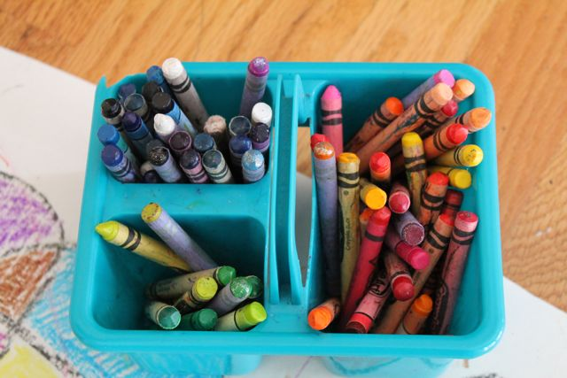 Ever Never Again: Fun with Crayons