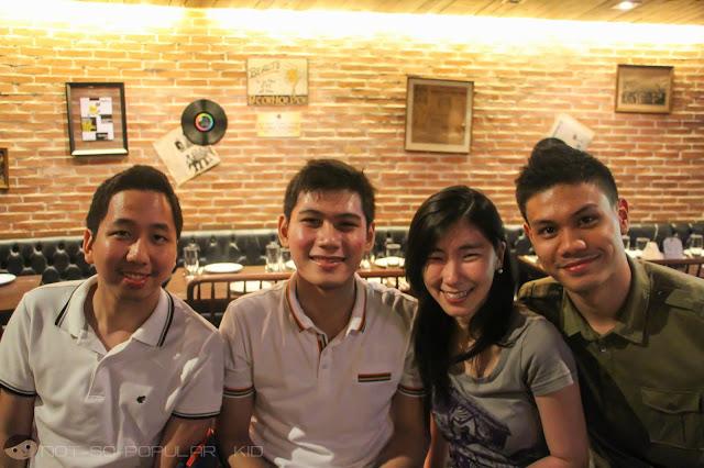 Renz Cheng, Robie Reyes, Keshia Ong, JD Castillo