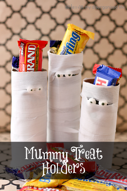 Mummy Treat Holders {i love} my disorganized life