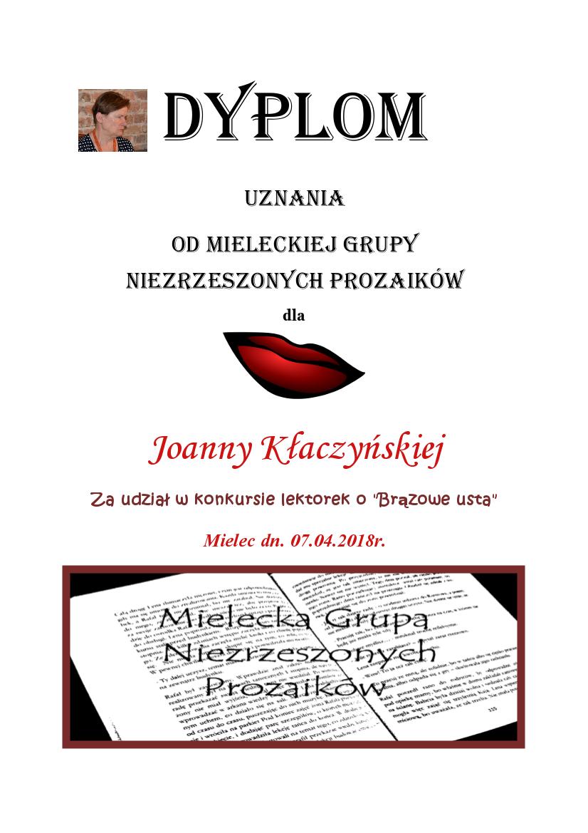 joanna klaczyńska