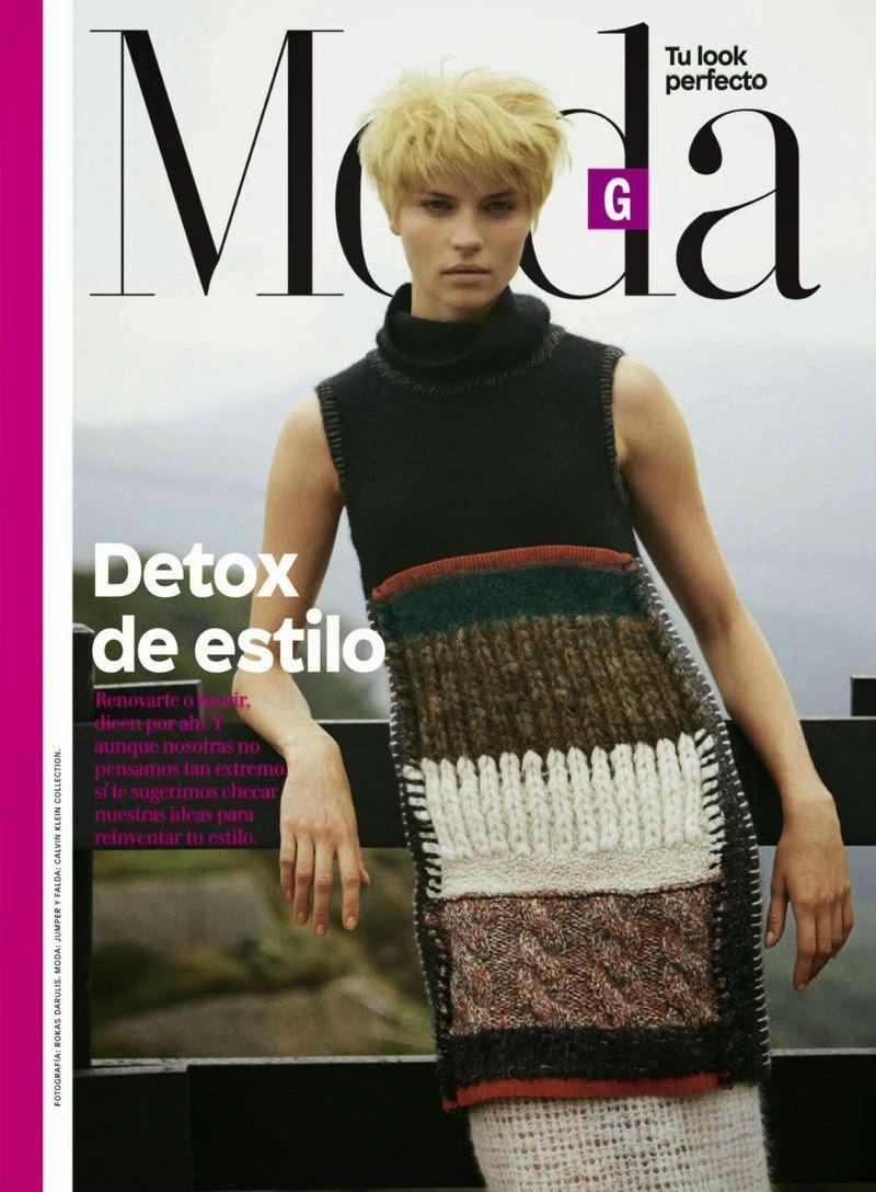 Egle Tvirbutaite - Glamour, Mexico, January 2015