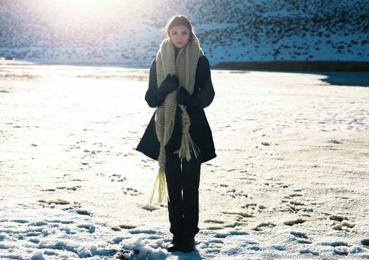 Argentina moda invierno 2014 colección Cardón. Ropa de Mujer.