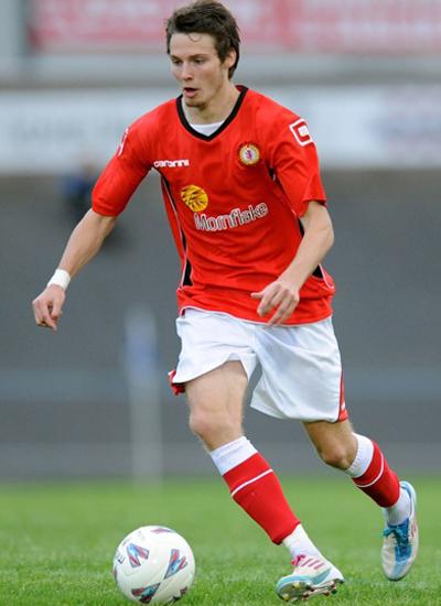 Nick Powell at Crewe